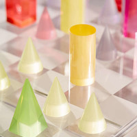 Neon Acrylic Chess Set | Urban Outfitters