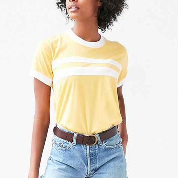 Camp Collection & UO Striped Ringer Tee