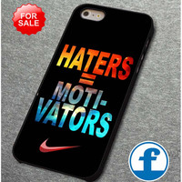 Nike Haters Motivation Nebula Galaxy for iphone, ipod, samsung galaxy, HTC and Nexus Phone Case