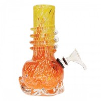 """Soft Glass Water Pipe Tom Danks 6"""" – My 420 Store 
