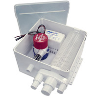 Rule 800 G.P.H. Shower Drain Kit w/Multi-Port Inlet 98A 98A 42237095787