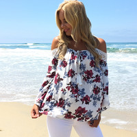 Rose To The Top Blouse