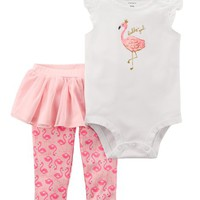 2-Piece Bodysuit & Tutu Pant Set