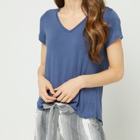 Fuchsia Favorite Relaxed Fit Tee