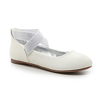 Kenneth Cole Reaction Girls' Tap Ur It Slip-On Shoes - White