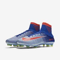 The Nike Mercurial Superfly V Women's Firm-Ground Soccer Cleat.