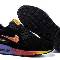 Nike Air Max 90 Unisex Sport Casual Multicolor Air Cushion Sneakers Couple Running Shoes