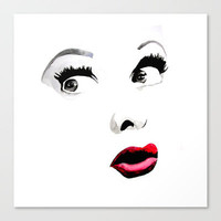 Ms. Lucille Ball Stretched Canvas by HAUS OF DEVON