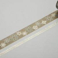 Masking Tape - ROUND TOP, Lace, 20 / 8mm x 4m