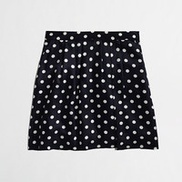 Factory pleated printed skirt - Skirts - FactoryWomen's New Arrivals - J.Crew Factory