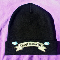 Dont Touch Me Banner Beanie