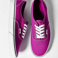 Vans Authentic Canvas Sneaker- Purple W