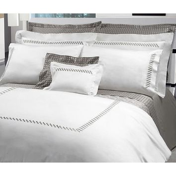 Patrick Embroidery Bedding by Dea Linens
