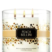 14.5 oz. 3-Wick Candle Peach Bellini