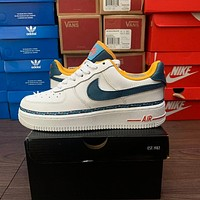 Nike Air Force 1 color string low-top flat shoes