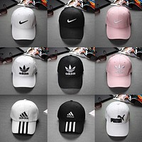Summer Fashion Women Men Embroidery nike Sports Sun Hat adidas Baseball Cap Hat-1pcs