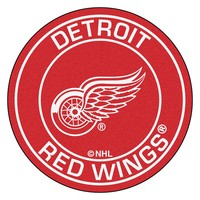 """Detroit Red Wings NHL Round Floor Mat (29)"""""""