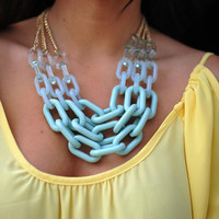 The Missing Link Necklace: Mint | Hope's