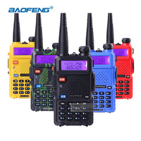 Portable Radio Set Baofeng UV-5R 5W Walkie Talkie UV5R Dual Band Handheld Two Way Radio Pofung UV 5R Walkie-Talkie For Hunting