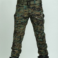 Combat  Cotton Cargo ARMY Pants Military Camouflage Camo Trousers Four Seasons Tactical Pants