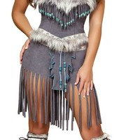 Hottie Indian Sexy Costume - Native American Indian Costumes