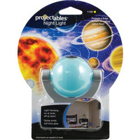 PROJECTABLES 11282 Solar System LED Projection Night Light