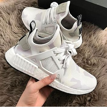 Adidas NMD XR1 Duck Camo Women Men Running Sport Casual Shoes Sneakers Camouflage White