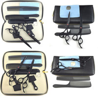 Professional Hair Cutting+Thinning Scissors Barber Shears Hairdressing Set Black PY1 P18