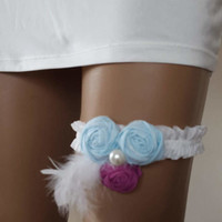garter, toss garters, blue, white elastic band,    wedding garters,    bridal accessores,   garter suspander,    free shipping!
