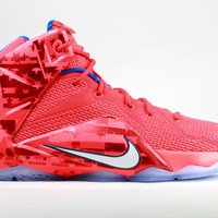 Nike Big Kid's Lebron XII 12 GS USA Independence Day