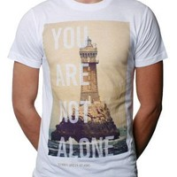 To Write Love On Her Arms Store - Lighthouse Guys Shirt White