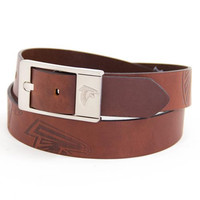 Atlanta Falcons NFL Brandish Leather Belt Size 34