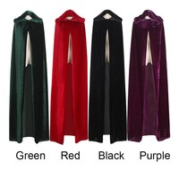 Adult Witch Long Halloween Cloaks Capes