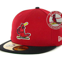 St. Louis Cardinals MLB Cooperstown Patch 59FIFTY Cap