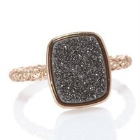 CUSP | Accessories | Jewelry | Rings | Nadia Rectangular Ring, Black Iron (Stylist Pick & Cusp Most Loved!)