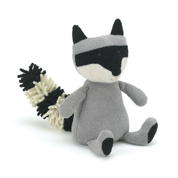 Browse Noodle Raccoon - Online at Jellycat.com