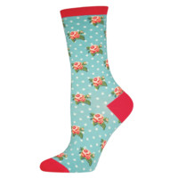 Romantic Floral Socks