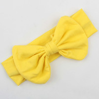 Yellow Cotton Handband