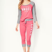 Tee & Crop Pant Set - Signature Cotton - Victoria's Secret