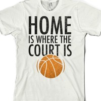 White T-Shirt | Cute Basketball Shirts