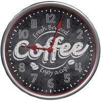 Westclox It's Time For Coffee Wall Clock