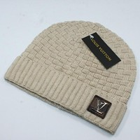 Louis Vuitton LV Fashion Edgy Winter Beanies Knit Hat Cap-1