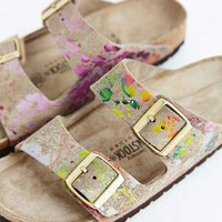 Birkenstock Flower Crush Arizona Slide Sandal