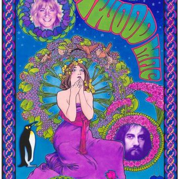 Fleetwood Mac 11x17 Music Poster