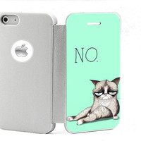 pu/plastic My Grumpy Cat 3 iphone 4/4s case iphone 4s cover by stylishbunny, -Includes screen protector and cleaning cloth