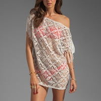 Sofia By Vix Swimwear Solid Arpex Dress in White from REVOLVEclothing.com