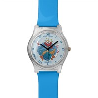 Bowling Wild Turkey With Ball And Pins Watch