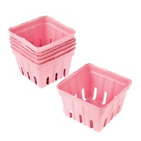Darice® Pink Paper Berry Baskets