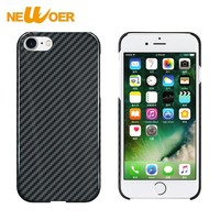 100% Real Pure Carbon Fiber Cover Matte Phone Case For iPhone 7 Cover