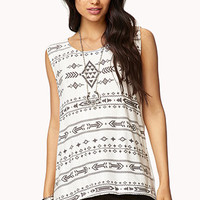 Open-Knit Tribal Top | FOREVER 21 - 2000074395